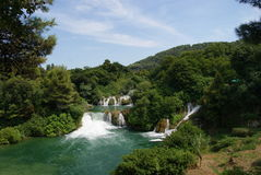 Krka waterfalls national park Royalty Free Stock Photography
