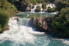 Krka waterfalls Stock Photos