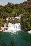 Krka waterfalls1 Стоковое Изображение RF