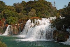 Krka waterfalls2 Stock Images