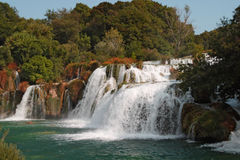 Krka waterfalls2 Стоковые Изображения