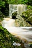 Krkonose瀑布 库存图片