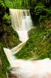 Krkonose瀑布 库存照片
