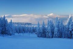Krkonose, Δημοκρατία της Τσεχίας Στοκ φωτογραφία με δικαίωμα ελεύθερης χρήσης