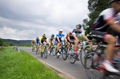Krkonose att cykla turnerar 2016 Arkivbilder