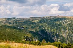 Krkonose berg - Wawel Royaltyfria Foton