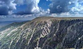 Krkonose Berge Stockfotografie