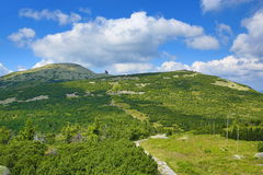Krkonose-Berge, Tschechische Republik, Polen Lizenzfreies Stockfoto