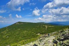 Krkonose-Berge, Tschechische Republik, Polen Stockfotos