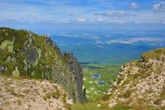 Krkonose-Berge, Tschechische Republik, Polen Stockbild