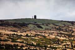 Krkonose berglandskap Royaltyfria Bilder