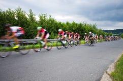 Krkonose cycling tour 2016 Stock Photos