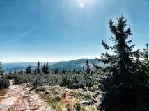 Krkonose, Czeskie góry obraz royalty free