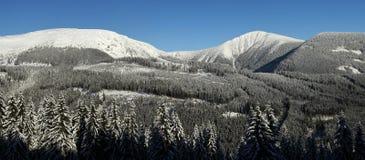 Krkonose góry Obraz Stock