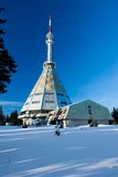 Krkonose - Janske lazne - Czeh mountains Royalty Free Stock Photography