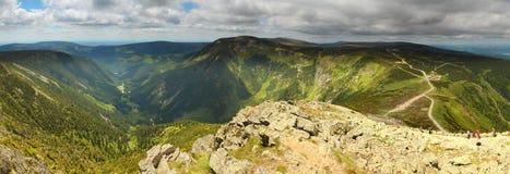 Krkonose panorama Royalty Free Stock Photos