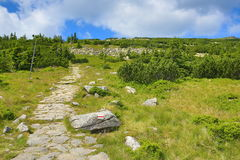 Krkonosebergen, Tsjechische Republiek, Polen Royalty-vrije Stock Foto