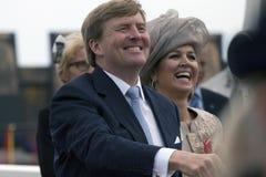 Królewiątko Aleksander i królowa maksimumy Fotografia Stock