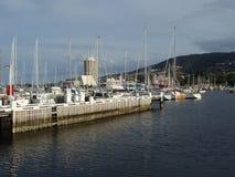 Królewski jachtu klub Tasmania Obrazy Royalty Free
