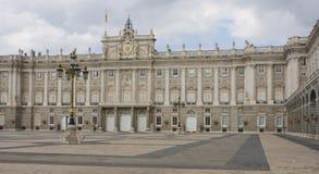 królewski Madrid pałac Zdjęcie Stock