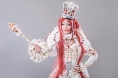 Królowa czarownik Zdjęcia Royalty Free