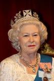 królowa elżbieta ii Fotografia Stock