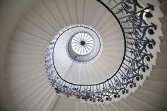 Królowa pałac tulipanów schodki, 1619 Budował jako dodatek Tudor pałac Zdjęcia Stock