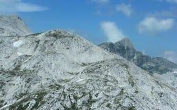 Krn山,朱利安阿尔卑斯山,斯洛文尼亚 库存图片