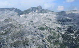 Krn Mountains landscape, Julian Alps, Slovenia Royalty Free Stock Images