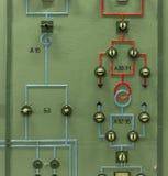 Kärnreaktor i ett vetenskapsinstitut Royaltyfri Bild