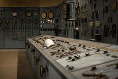 Kärnreaktor i ett vetenskapsinstitut Royaltyfria Bilder