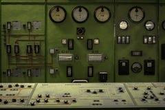 Kärnreaktor i ett vetenskapsinstitut Royaltyfri Foto