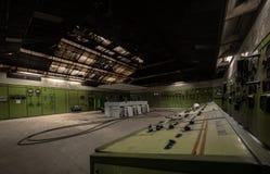 Kärnreaktor i ett vetenskapsinstitut Royaltyfria Foton