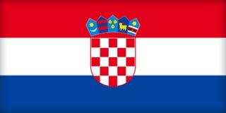 Kroatië stock illustratie