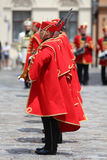 Kroatië/Eerwacht Battalion/het Richten zich royalty-vrije stock afbeeldingen