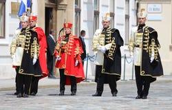 Kroatië/Eerwacht Battalion/Mannen en Vrouwen royalty-vrije stock fotografie