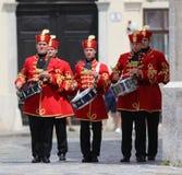 Kroatië/Eerwacht Battalion/Slagwerkers royalty-vrije stock foto