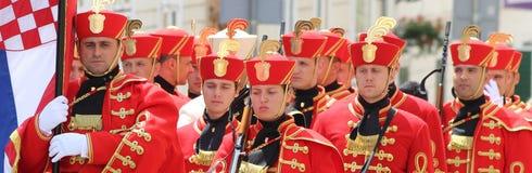 Kroatië/Eerwacht Battalion/vóór de Verandering royalty-vrije stock fotografie