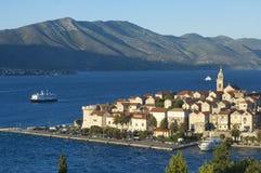 Kroatië - Korcula Stock Foto's
