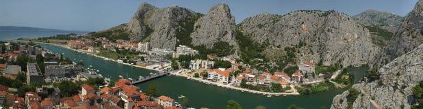 Kroatië Omis Royalty-vrije Stock Foto
