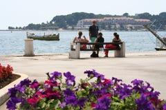 Kroatië-POREC Royalty-vrije Stock Foto