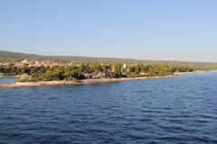 Kroatië, reis aan Brac, jaar 2013 Stock Afbeelding