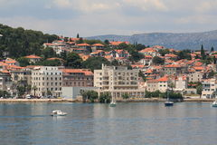 Kroatië, reis aan Brac, jaar 2013 Stock Afbeeldingen