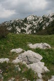 Kroatië/Rocky Mountains/Velebit Stock Afbeelding