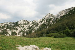 Kroatië/Rocky Mountains/Velebit stock afbeelding