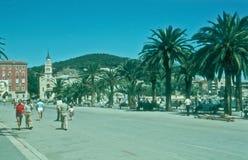 Kroatië - Spleet Royalty-vrije Stock Foto's