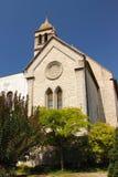 Kroatien-, Å-ibenik - kyrka av St Francis av det fjortonde århundradet och den Franciscan kloster royaltyfria foton
