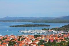 Kroatien Stockfotografie