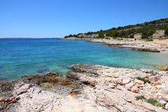 Kroatien - adriatische Küste Lizenzfreies Stockfoto