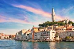 kroatien Ansicht von Rovinj Stockbild